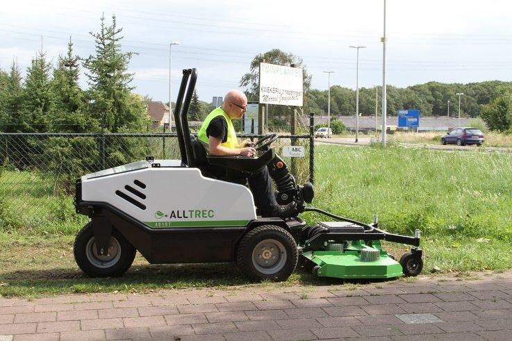 Alltrec zero emissions mower.JPG