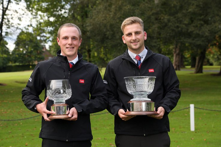 Last year's winners Dan Waring and Jimmy Heritage