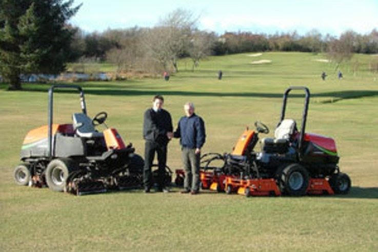 Manicured roughs and fairways for Centenary Celebrations at Williamwood Golf Club