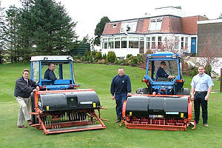 Bonnyton Golf Club return to Wiedenmann for another machine