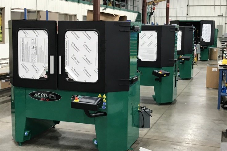 Foley Grinders Ready For Shipping To Europe In Production
