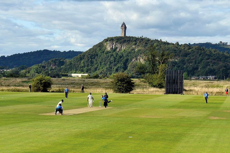 Two can play that game at Stirling County Cricket Club
