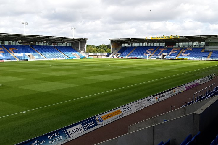 ShrewsburyTown Pitch