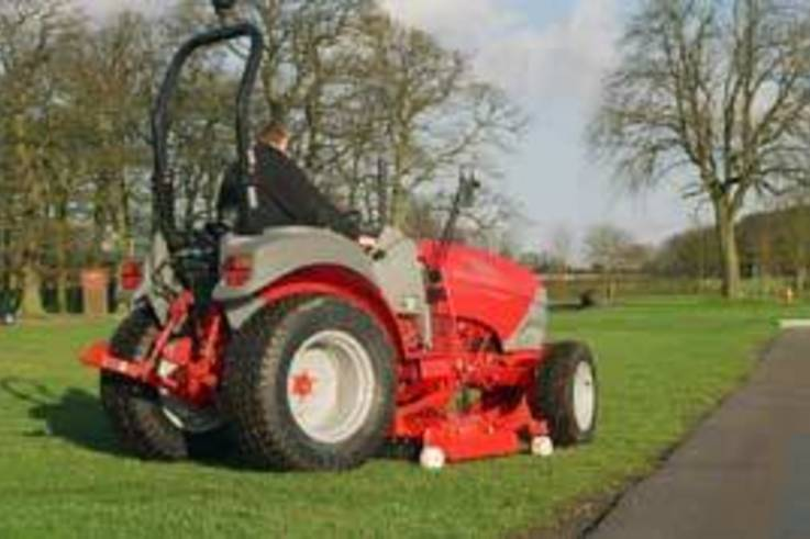 Choice of mid-mounted mowing decks for McCormick