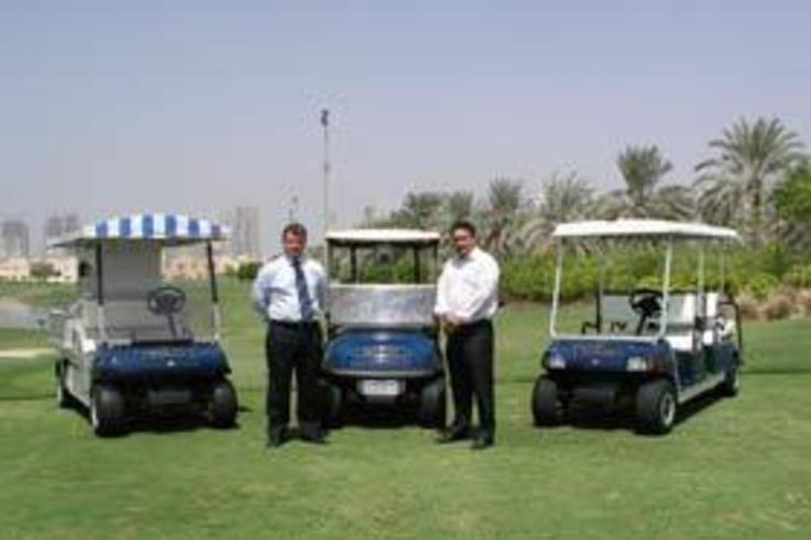 Club Car delivers the 'Full Monty' in Dubai