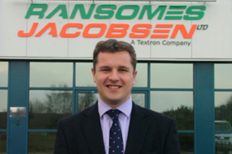 Ransomes Jacobsen appoint Rupert Price as Sales Manager-UK and Ireland
