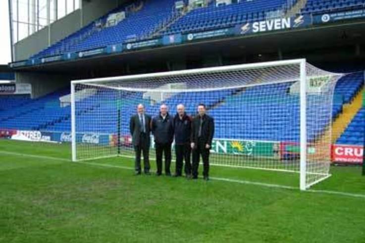 Harrod UK exclusive suppliers to Ipswich Town FC