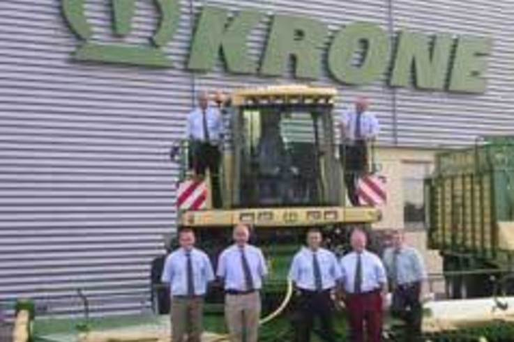 "First ""Krone Forage Centre"" appointed"