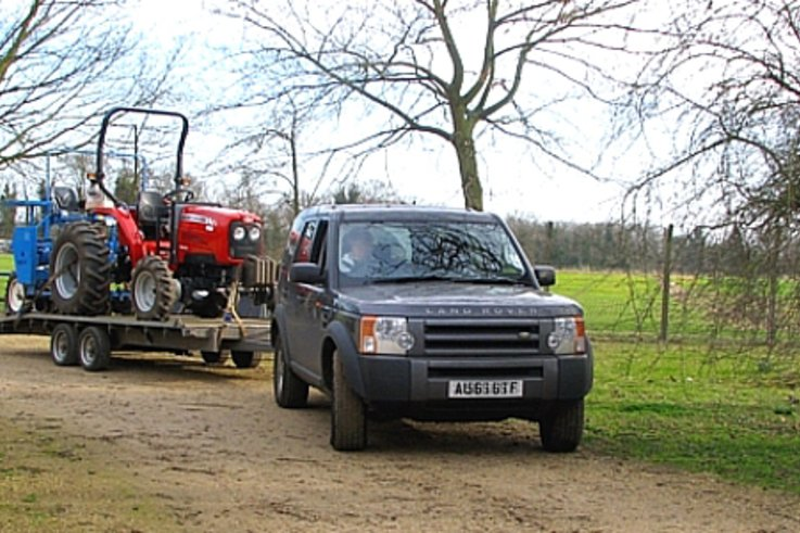 MF compact tractor applies a lighter touch to crop trials