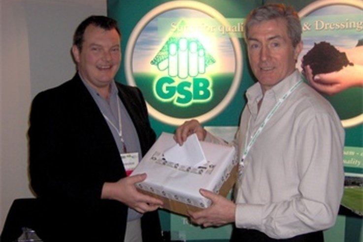 Myerscough student wins GSB Turf Prize