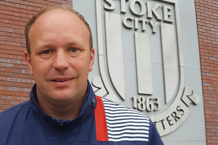 Stoke City FC Andy Jackson land