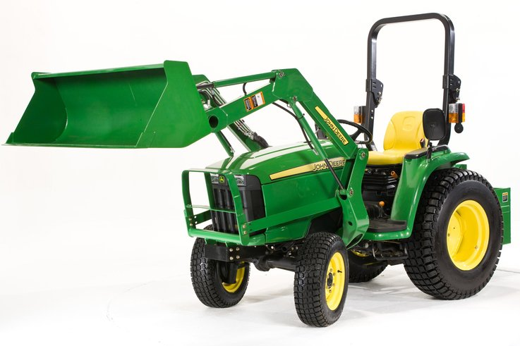 John Deere 3036E compact tractor  loader