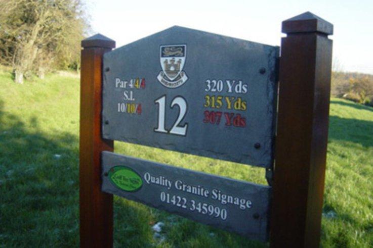 Golf Tee Signs