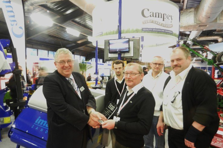 RJC presents award to Havdrup at BTME 2012
