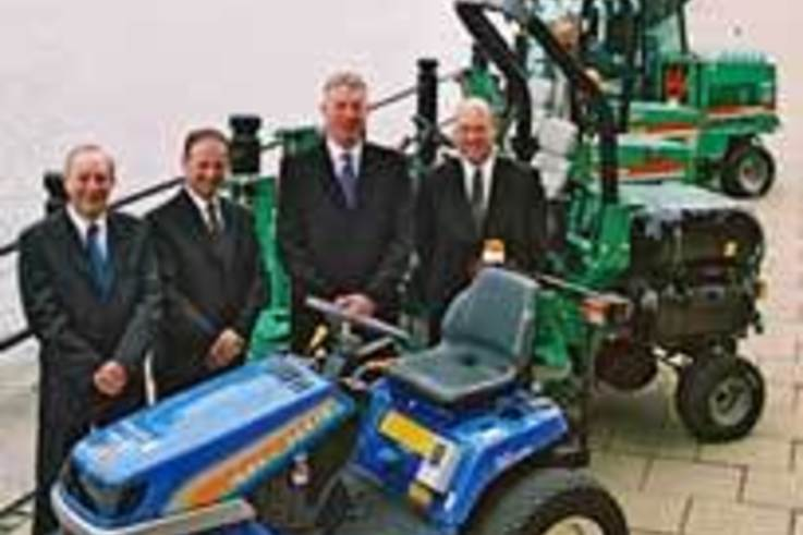 £1 Million contract for Ransomes Jacobsen