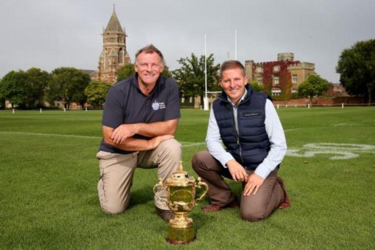 Mark Allen- Rugby  School