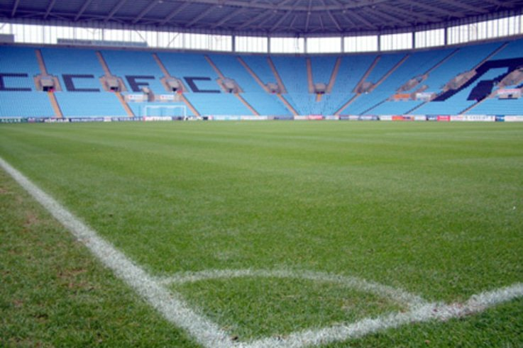Plenty of Xtra Grass to cut at the Ricoh Arena