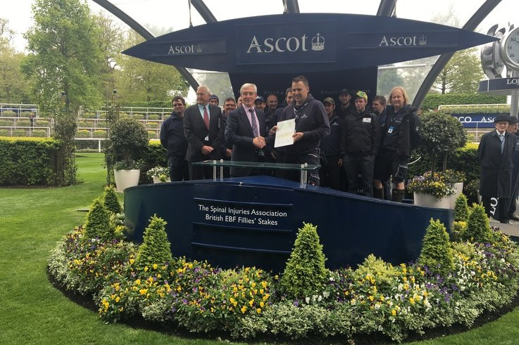 Ascot Groundstaff Awards Presentation data tag