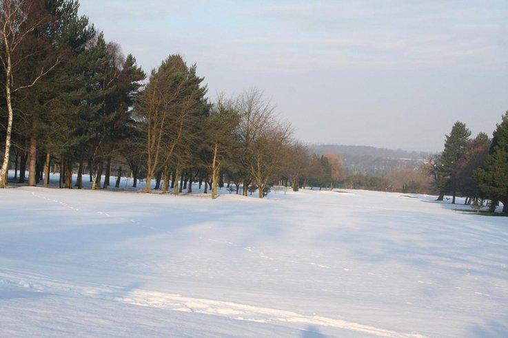 staffordshire snow golf