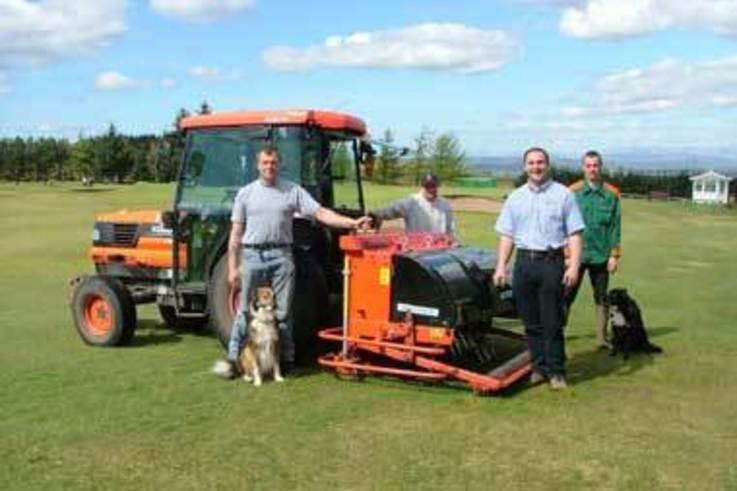 Versatile deep aerator for Paisley Golf Club