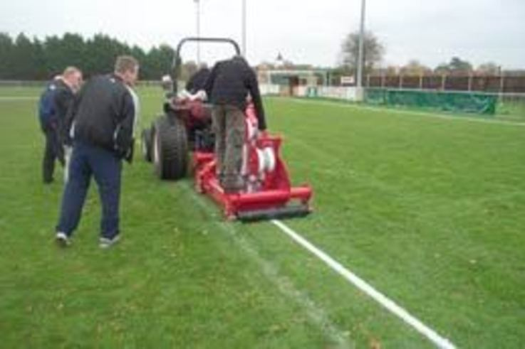 A permanent line marking solution