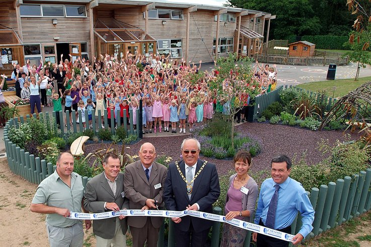 Award-winning school garden is officially opened