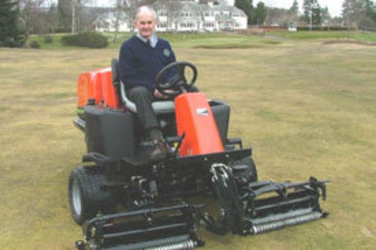 New equipment joins turf fleet at Blairgowrie Golf Club