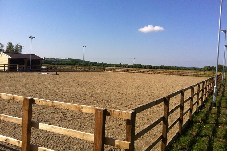 White Horse Contractors complete Pound Farm Livery and Equine Services equestrian centre