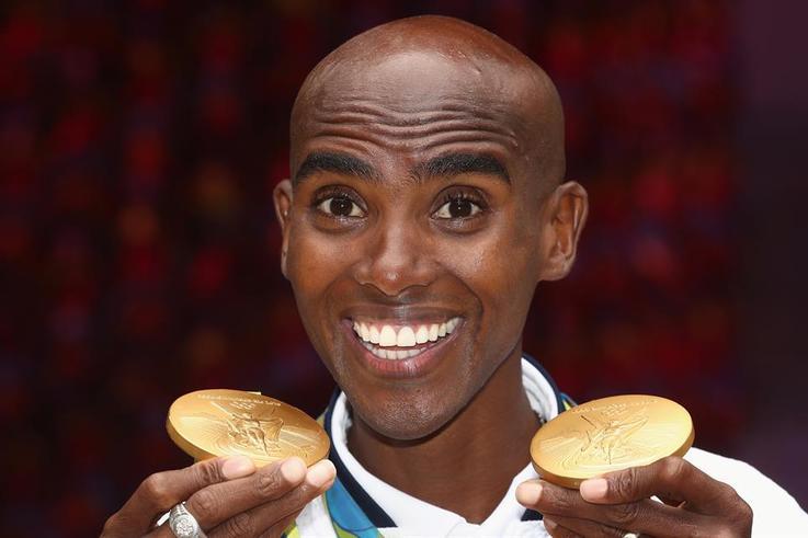 mo farah 3200 rio medals