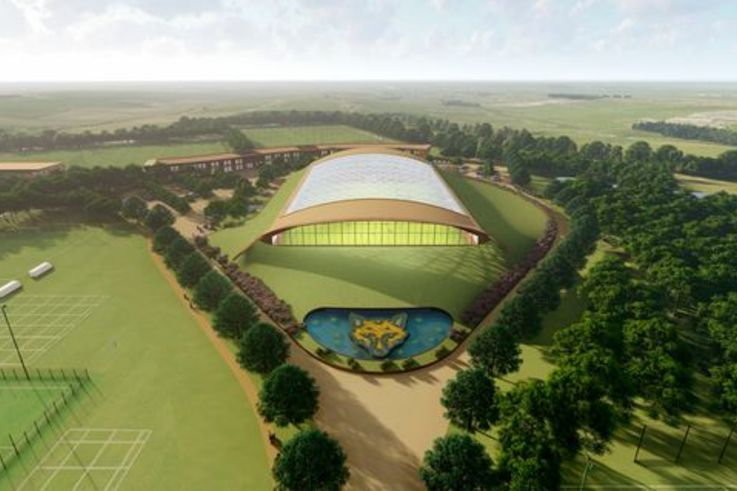 Leicester City's Training Ground Artist Impression