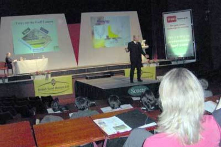 BIGGA award CPD credits for  NTF Conference, Blackpool 2005