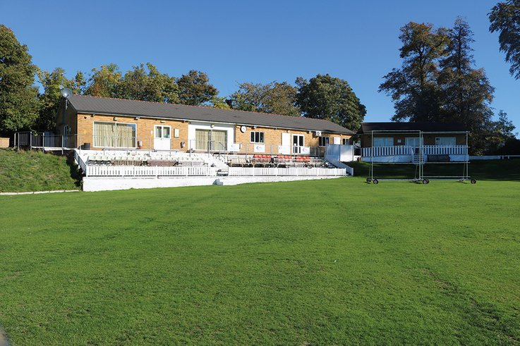 Halesown-CC Clubhouse