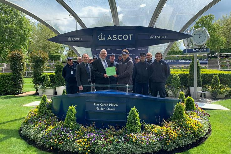 Groundstaff Ascot Presentation May 2019