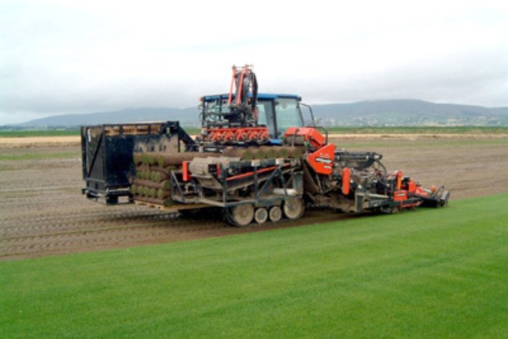 One-Man Turf Harvesting boost Outputs, Cuts Cost.