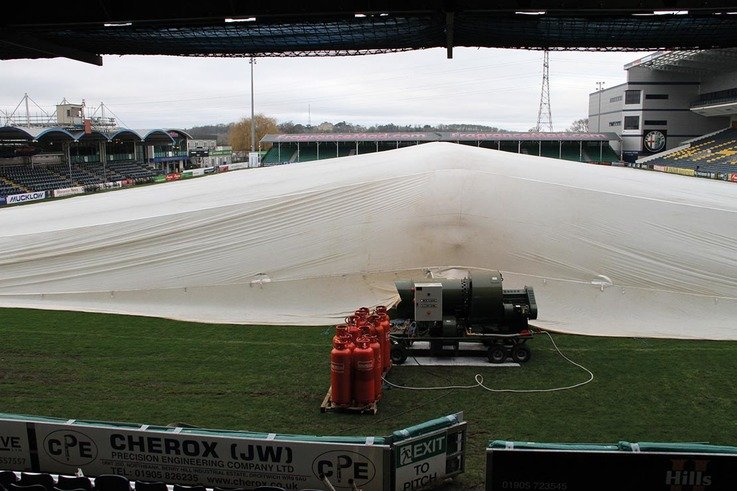WorcesterWarriors Tent