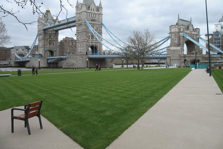 Landscapers rave about RTF Turf