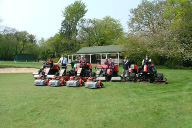 New Jacobsen Greens Mowers ensure better is the name of the game at Honiton Golf Club