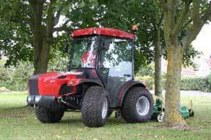 Two-way four-wheel drive tractor comes with added driver comfort.