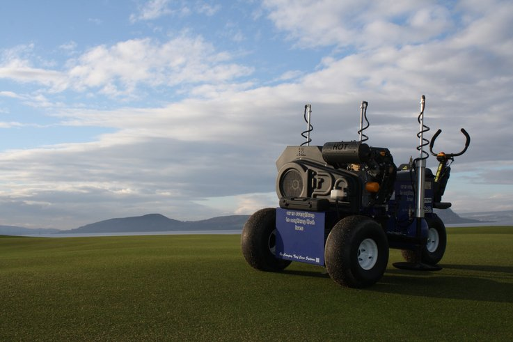 Air2G2 at Castle Stuart GC