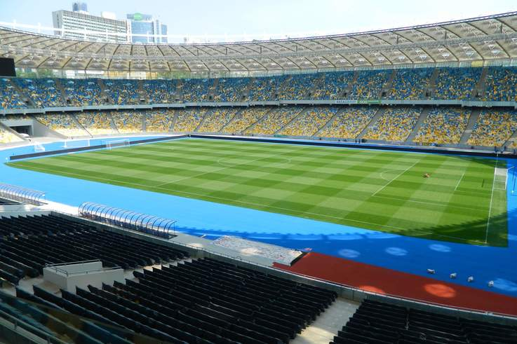 Olympic Stadium in Kiev