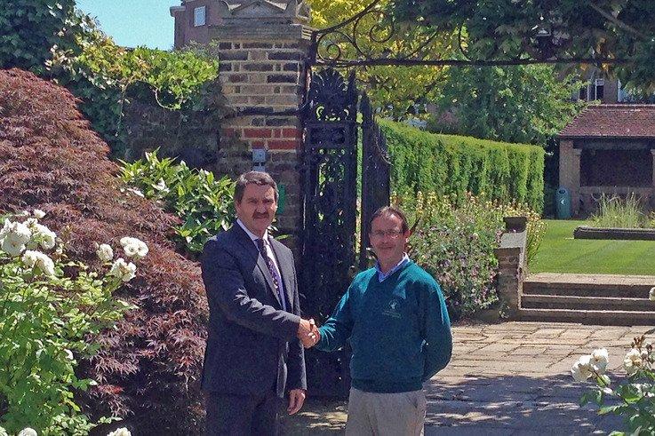 Marc Newey welcomes Peter Bradburn