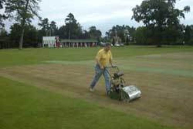 End of season renovations at Worfield CC
