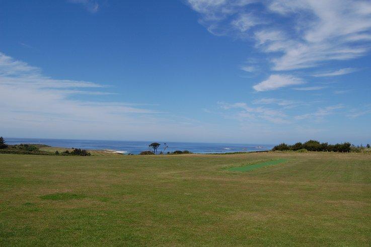 Herm cricket pitch