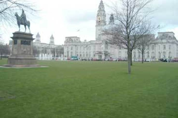 The Lawns at City Hall get Inturf makeover