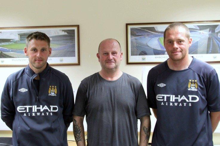 Man City Training Ground Staff