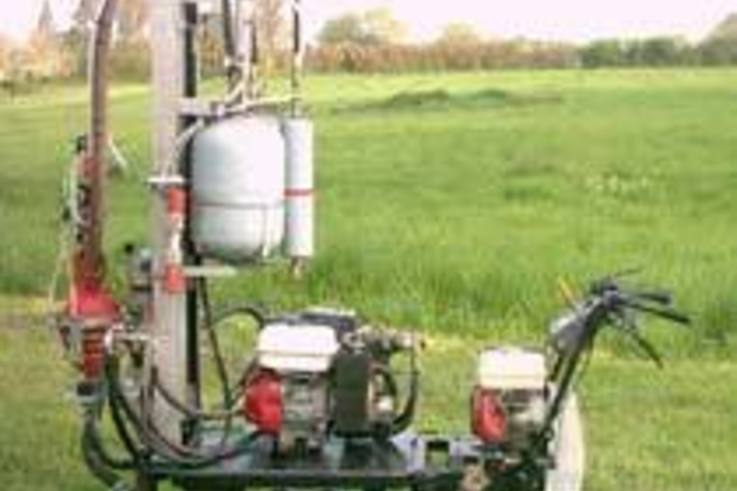 New aeration machine delivers full power in tight spaces