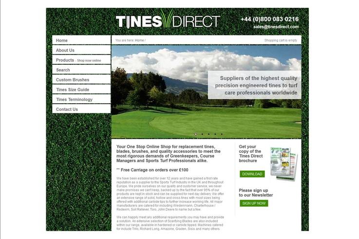 Tines Direct Screen Shot