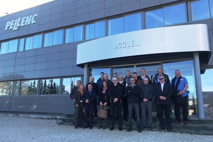 Pellenc Dealers Visit Factory 2