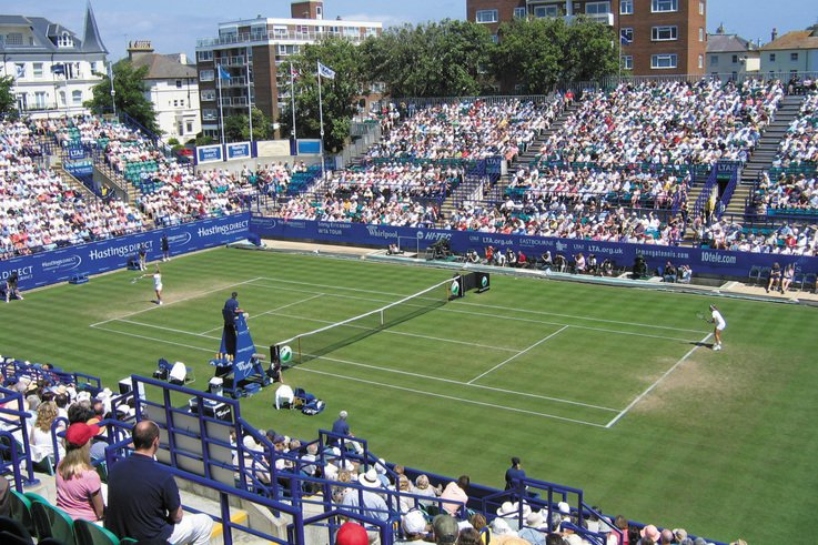 Our courts will be top quality -groundsman Charman