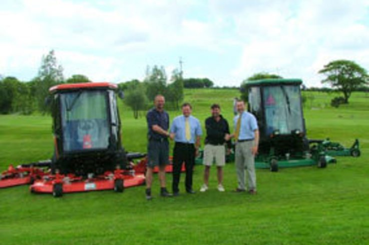 Ashbury and Gillingham Golf Clubs choose Ransomes Jacobsen